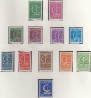 EUROPA CEPT 1966, Postfrisch **, Gemeinschaftsausgaben Komplett, 37 Marken, Boot - 1966