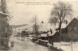 PONTARLIER LE DOUBS ET LA CHAPELLE DE L'EXPERANCE - Pontarlier