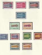 EUROPA CEPT 1969, Postfrisch **, Gemeinschaftsausgaben Komplett, 52 Marken, Tempel - Europa-CEPT