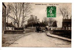 80 - DAOURS . ENTRÉE DU PAYS - Réf. N°24239 - - Francia