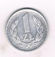 1 ZLOTY 1971 POLEN /839/ - Polen