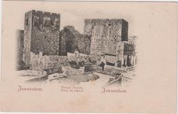 8786.   Israele - Israel - Jerusalem - Thurm Davids - Tour De David - 1900 - FP VF - Italian Stamp - Israele