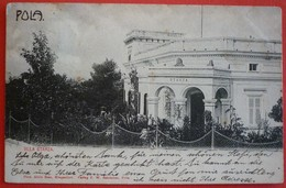 PULA - POLA , VILLA STARZA 1908 - Kroatien