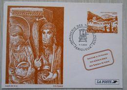 12 Pseudo Entier / PAP Saint Guilhem De Désert Hérault 1 1 2001 - Postwaardestukken