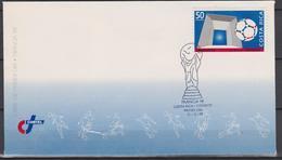 Costa Rica FDC 1998 France WCF - 1998 – Frankreich