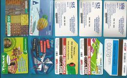 LOT De 117 Télécartes FRANCE & ETRANGER - Télécartes