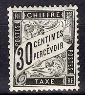 France Timbre Taxe YT N° 18 Neuf *. Belle Gomme D'origine. Premier Choix! A Saisir! - 1859-1955 Neufs