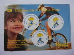 Autocollant La Mascotte VTT LA POSTE Vélo Cyclisme Cycling Ciclismo Radfahren Fahrrad Bicicleta Bike - Aufkleber