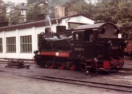 Photo Couleur Originale Locomotive à Vapeur N° 99 4632 - 8 En Gare - 750 Mm - Treinen