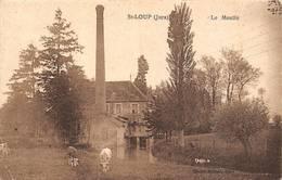 Saint St Loup Canton Chemin Moulin - Autres Communes