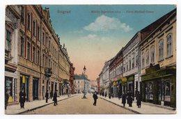1915 WWI  HUNGARIAN ISSUE,SERBIA,BELGRADE,KNEZ MIHAILOVA STREET,ILLUSTRATED POSTCARD,MINT - Serbia