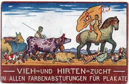 VIEH=UND HIRTEN=ZUCHT In Allen Farbenabstufungen Für Plakate - 1° Prix Foire De Berne - Animaux (117923) - Publicité