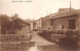Gigny Sur Suran Canton Saint Julien Moulin - France