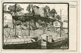 MEZIERES.1915. Citadelle V. Schleuse (illustrateur Allemand E. HARTWIG) - Charleville