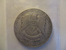 Syria: 1 Pound 1950 (silver) - Syrie