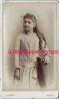 CDV Jolie Jeune Fille-photo Cognet à Paris - Fotos
