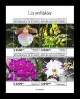 Guinea 2019 Mih. 14080/83 Flora. Flowers. Orchids MNH ** - Guinea (1958-...)