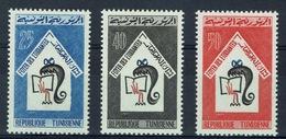 Tunisia, Student Hostel, 1965, MH VF complete Set Of 3 - Tunisia