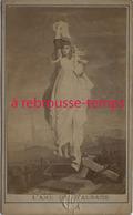 CDV Allégorie- L'âme De L'Alsace- Esprit Revanchard-guerre - Old (before 1900)