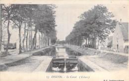 71 - DIGOIN : Le Canal ( Ecluse ) - CPA Village - Saône Et Loire - Digoin