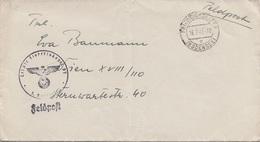 FELDPOSTBRIEF 1941 Von FRIEDRICHSHAFEN Nach WIEN XVIII, Brief Ohne Inhalt - Brieven En Documenten