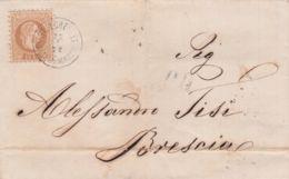 1872-Austria Lettera Affr. 15k.bruno Annullo Di St. Lorenzen - 1850-1918 Impero
