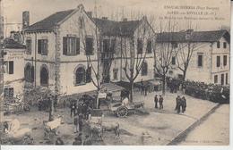 PAYS BASQUE - SAINT PEE SUR NIVELLE - Le Marché Aux Bestiaux Devant La Mairie ( ETAT ) - Frankreich