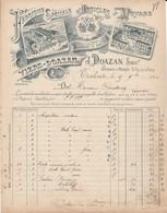 Toulouse - J.Doazan Succ. / Fabrique Spéciale D'articles De Voyage - France