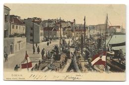 Croatie - SIBENIK - Obala (colorisé,rare) - Prix Fixe - Croatie
