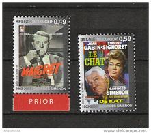 Zegels 3167 - 3168  ** Postfris - Unused Stamps
