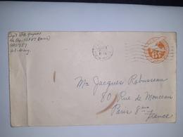 USA  /  Entier  Postal  6 Cents Orange AIR MAIL  /  Cachet US ARMY  (1945 ) - 1941-60
