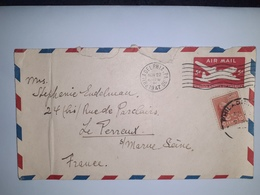 USA  /  Entier  Postal  5 Cents Rouge AIR MAIL  /  Cachet  PHILADELPHIA  (1947 ) - 1941-60