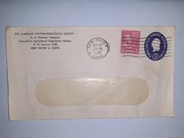 USA  /  Entier  Postal  3 Cents Bleu  /  Cachet  NEW HAVEN  Conn. (1952 ) - Postal Stationery