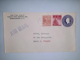 USA  /  Entier  Postal  3 Cents Bleu  /  Cachet  HAMMONDSPORT  N.Y.  (1946 ) - 1941-60