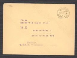 0l  073  - Sarre   :  Lettre  18-10-32 Avec Obl.SAARBRÜCK P.SCH.A A - 1920-35 Saargebiet – Abstimmungsgebiet