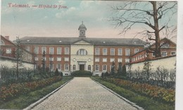 Tirlemont , Tienen , Hopital St Jean   , ( I. Tasiz Et Coenen ) KLEUR  , Couleur - Tienen