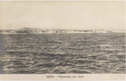 "1911/12-""Guerra Italo-Turca,Homs Panorama Dal Mare""assolutamente Perfetta - Guerres - Autres"
