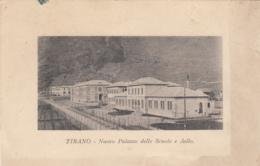 1920 Ca.-Tirano Sondrio, Nuovo Palazzo Delle Scuole E Asilo, Viaggiata - Sondrio