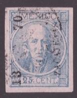 Mexico, 1870 Issue 25 C. Hidalgo Postally Used Forgery (signed Jaretzky)           -CK46 - Messico