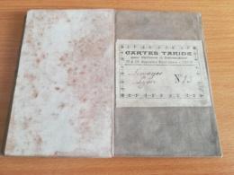 CARTE TARIDE TOILEE  N°15 LIMOGES LYON - Landkarten