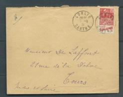Yvert N°272 - Pub 1a - Benjamin- Publicité Inférieure , Sur LSC DE Conlie ( Sarthe) Obli. 7/06/1931   LL17303 - Publicidad