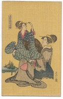 JAPON-Carte Fantaisie Illustrateur... Femmes - Altri