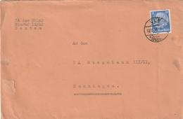 Deutsches Reich / 1936 / Mi. 522 EF Auf Brief Stegstempel ULM (AB27) - Lettres & Documents