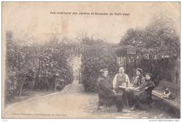HAUTS DE SEINE ROBINSON RUE MALABRIE CAFE RESTAURANT DU PETIT VATEL PUBLICITE AU DOS - France