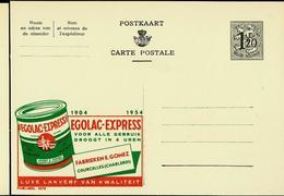 Publibel Neuve N° 1275 ( EGOLAC - Express Peinture - Courcelles) - Enteros Postales