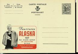 Publibel Neuve N° 1280  ( Fourrures ALASKA  - La Louvière ) Pauvre Animaux !!! - Enteros Postales