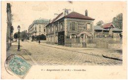 95 ARGENTEUIL - Grande Rue - Argenteuil