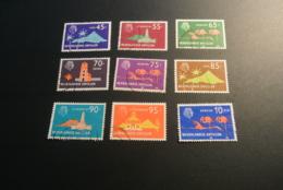 K29811 -set Used Nederlandse Antillen - Antilles 1973 - Island Series - SC. 340-348 - Curaçao, Nederlandse Antillen, Aruba