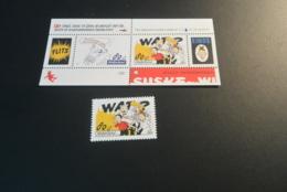 K29851 -Bloc  And Stamp MNh  Nederland - Netherlands - 1997 -  Comic  - Strip Suske En Wiske  - Bob Et Bobette - Enfance & Jeunesse