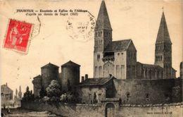 CPA Tournus Enceinte Et Eglise De L'Abbaye FRANCE (953276) - Other Municipalities